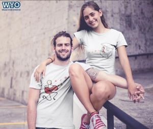 Guitar Lover Couple T-Shirt