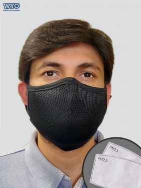 Guard7, Reusable 7 Layer PM2.5 Mask with 2 Filters