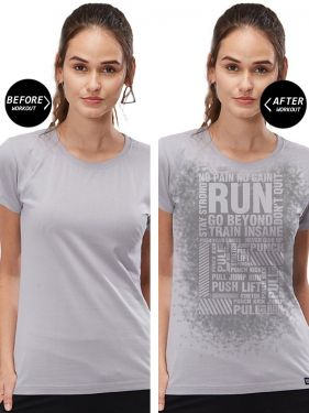 All Over Women Sweat Activated T-Shirt