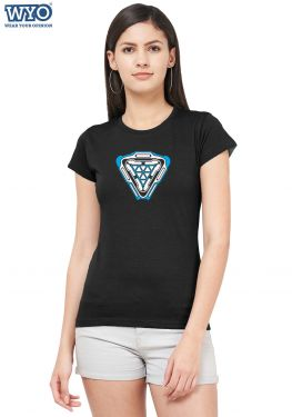 New Element Arc Reactor Glow Women T-Shirt