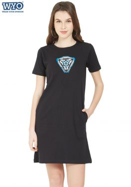 New Element Arc Reactor Glow TShirt Dress