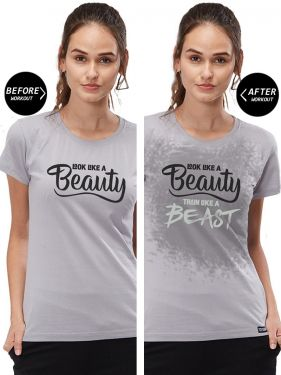 Train Like A Beast Women SWT ACT TShirt