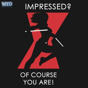 Impressed You Black Widow T-Shirt