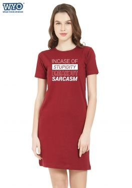 Breakout Sarcasm TShirt Dress
