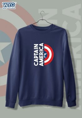 Captain America Shield - Sweatshirt