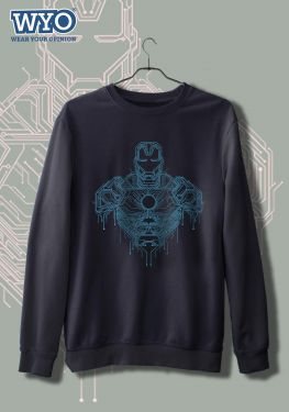 Circuit Bust Iron Man - Sweatshirt