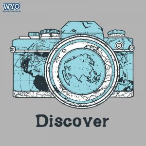 Discover World  T-Shirt