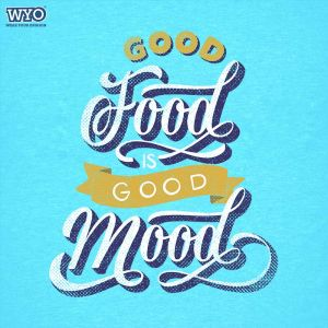 Good Food Good Mood T-Shirt