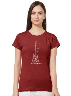 Guitar Music Women TShirt