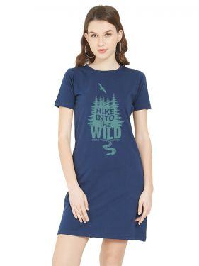 Into the Wild TShirt Dress