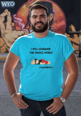 I Will Conquer Plus Size T-Shirt