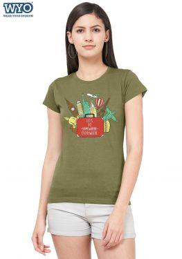 Go Everywhere Women T-Shirt