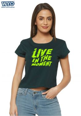 Live Moment Crop Top