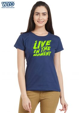 Live Moment Women T-Shirt