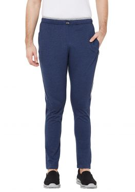 Plain Jogger- Navy Grey Sideline