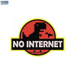 No Internet T-Shirt