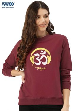 Plug-in Om - Women Sweatshirt
