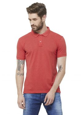 Double PQ Polo T-Shirt - Rose Mel
