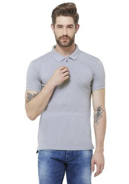 Double PQ Polo T-Shirt - Soft Blue