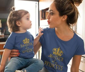 Mother Of A Princess Family Tshirt