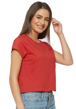 Crop Top - Red