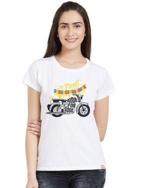 Ride For Soul Women Tshirt