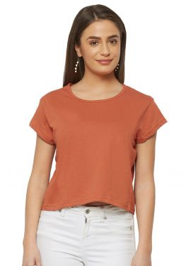 Crop Top - Rust