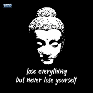 Never Lose Buddha Women Tshirt