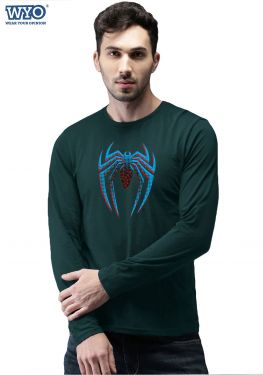 Halftone Dotted Spiderman - Full Sleeves