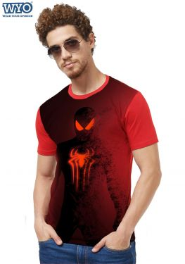 Spiderman Fade Out HD Printed T-Shirt