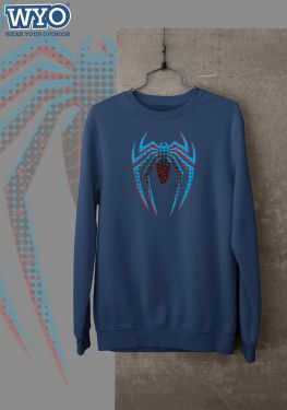 Halftone Dotted Spiderman - Sweatshirt