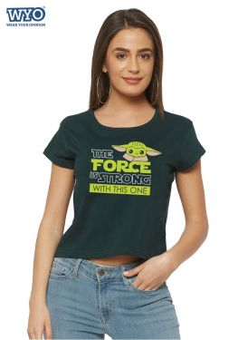 The Strong Force Child Crop Top