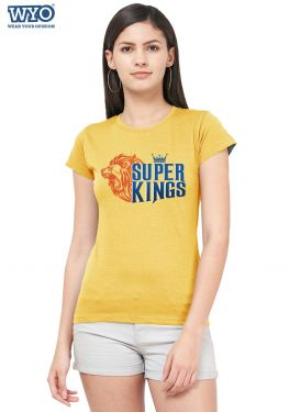Super Kings Women Tshirt