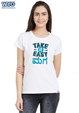 Take It Easy Women T-Shirt