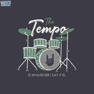 Drums My Tempo T-Shirt