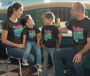 Together We Rock Family T-Shirt