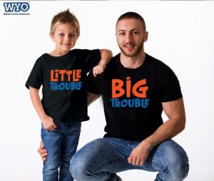 Big Trouble Family T-shirt