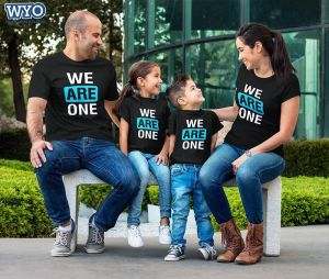 We Are One Family T-Shirt