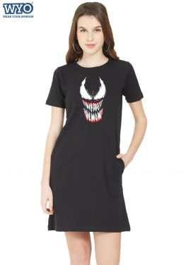 We Are Venom Glow TShirt Dress
