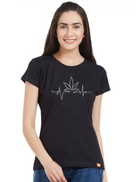 High Beat Glow Women Tshirt