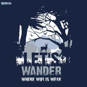 Let's Wander T-Shirt