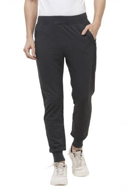 Plain Joggers With Zip - Antra Mel