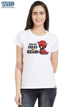 Failed Me Brain Women T-Shirt