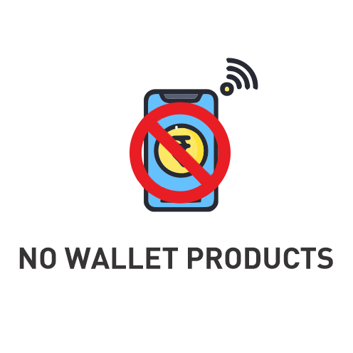 No Wallet Products